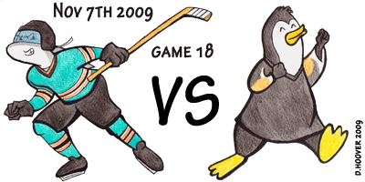 Sharks v Penguins