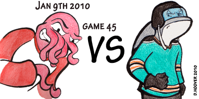 Sharks v Red Wings