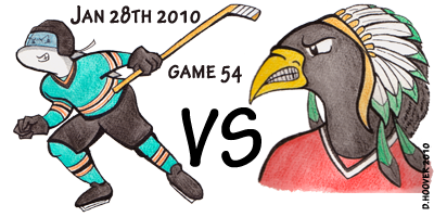 Sharks v Blackhawks