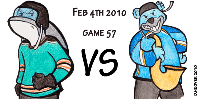 Sharks v St Louis