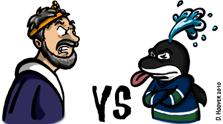 Kings v Canucks, Round 1