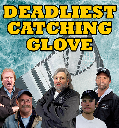 deadliest catching glove poster