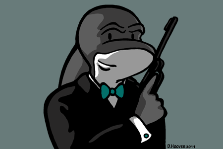 Secret Agent Sharkie