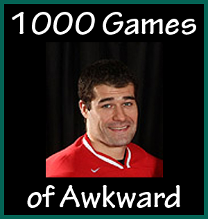 Patrick Marleau, 1000 games of awkward
