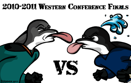 Sharks v Canucks western conference finals