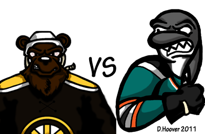 Sharks v Bruins