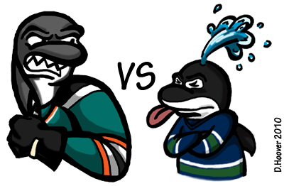 Sharks v Canucks