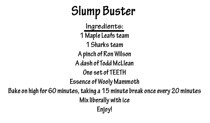 slump buster receipe