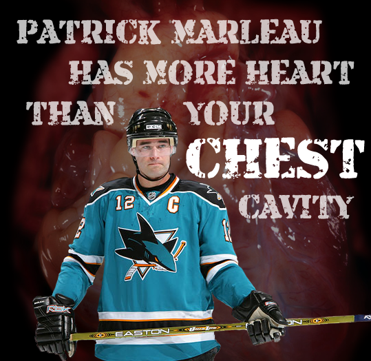 Patrick Marleau has heart